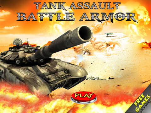 Free Tank Game Assault Battle Armor screenshot 6