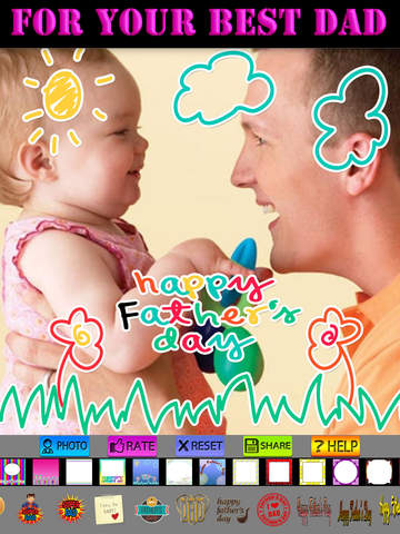 Father's Day Frame and Sticker screenshot 10