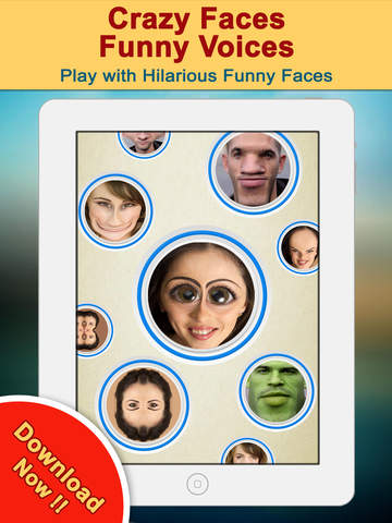 Crazy Helium Funny Face App | Apps | 148Apps