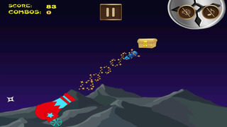 Awesome Flying Ninja Boy Pro - crazy sky flight racing game screenshot 2