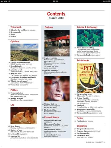 Prospect Magazine screenshot 3