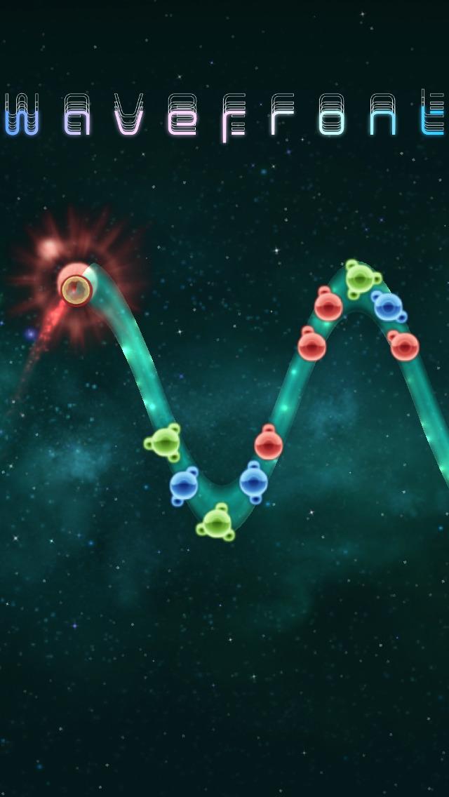 Wavefront (wave action puzzle) screenshot 1