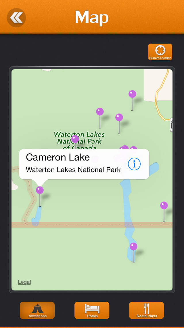 Waterton Lakes National Park screenshot 4