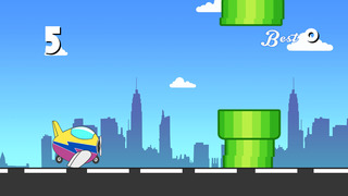 Air Plane Highway Racing - super speed flight race screenshot 2