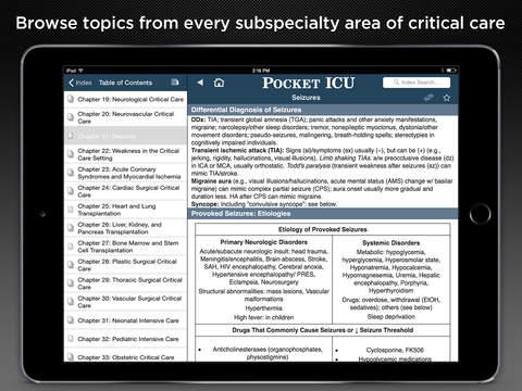 Pocket ICU screenshot 9