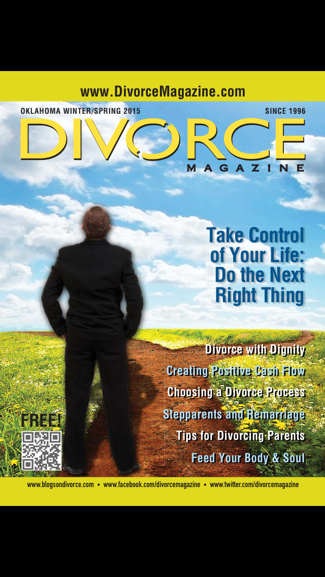 Oklahoma Divorce Magazine screenshot 1