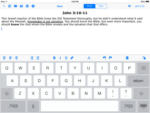 e-Sword HD: Bible Study to Go screenshot 5