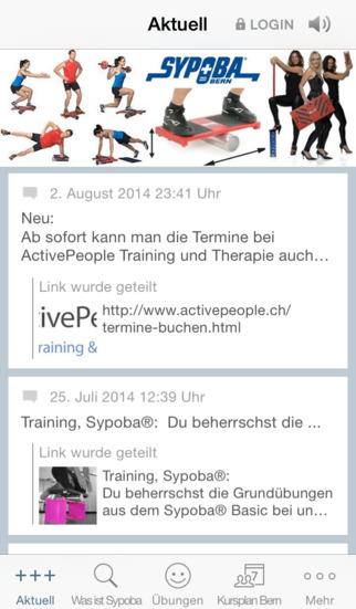 SYPOBA Bern screenshot 1