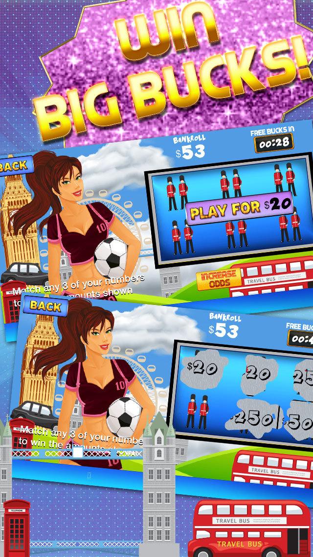 Ace Lotto Scratchers PRO - World Tour Lottery Scratch-Off screenshot 3