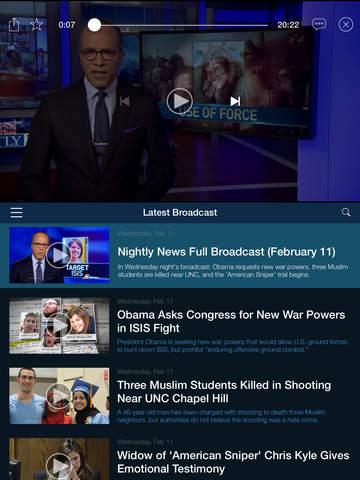 NBC Nightly News screenshot 7
