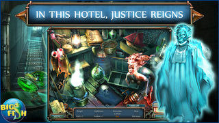 Haunted Hotel: Death Sentence - A Supernatural Hidden Objects Game screenshot 2
