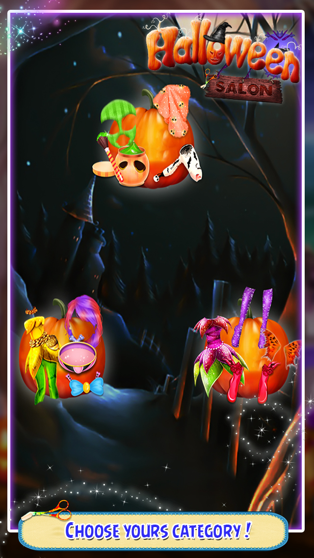 Halloween Salon Game screenshot 2