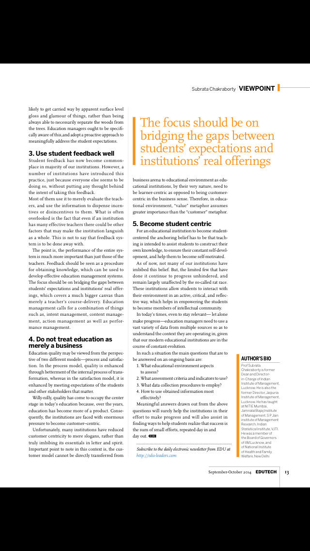 EDU Magazine screenshot 3