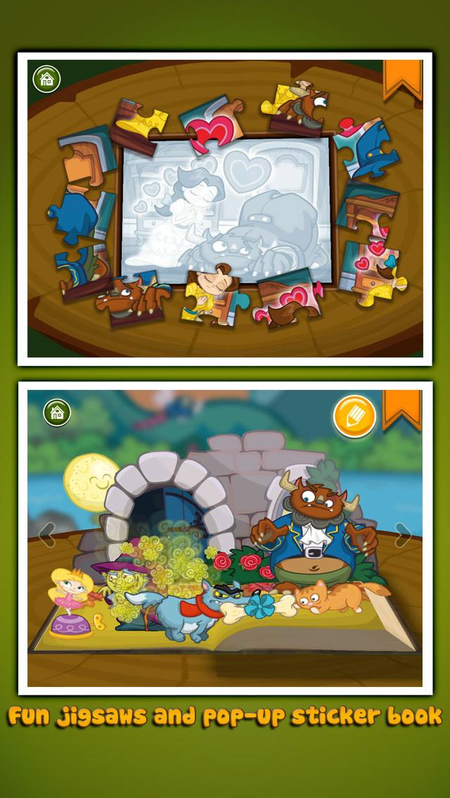 StoryToys Beauty and the Beast screenshot 4