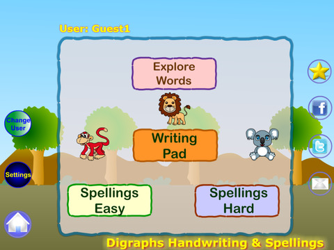 Digraphs Writing and Spelling For Preschooler Free screenshot 5