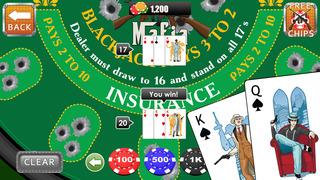 Gangster Black Jack screenshot 3