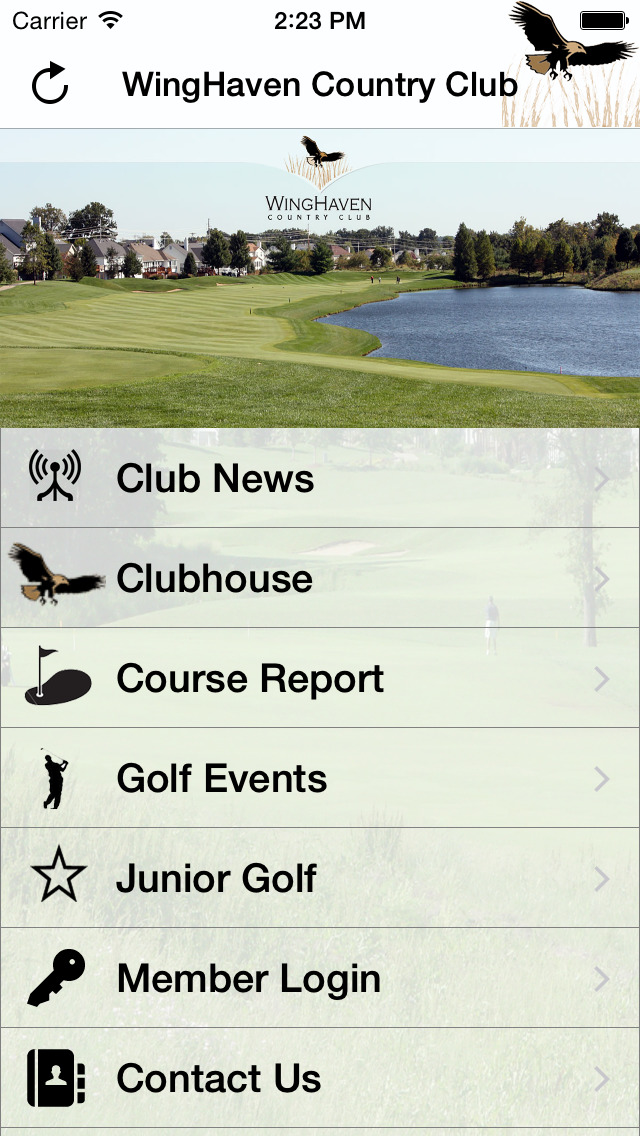 WingHaven Country Club screenshot 2