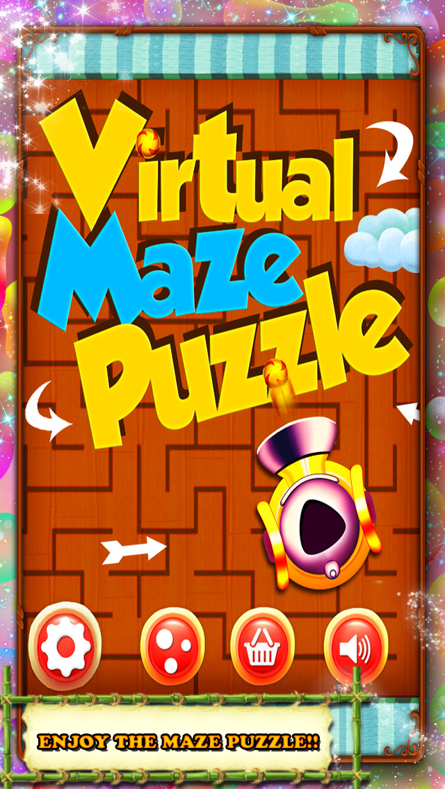 Virtual Maze Puzzle screenshot 1