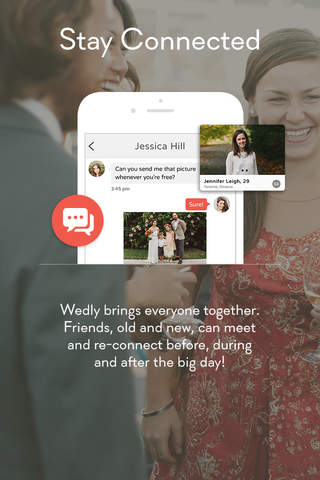 Wedly - Wedding Photo App - náhled