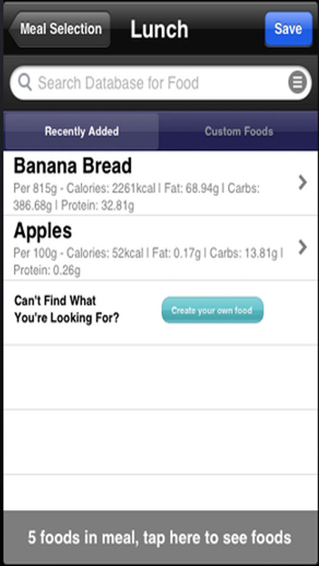 Food Diary - Best Weight Loss Management Tool screenshot 4