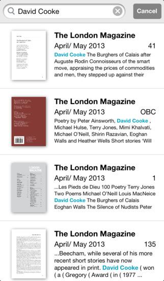 The London Magazine screenshot 4