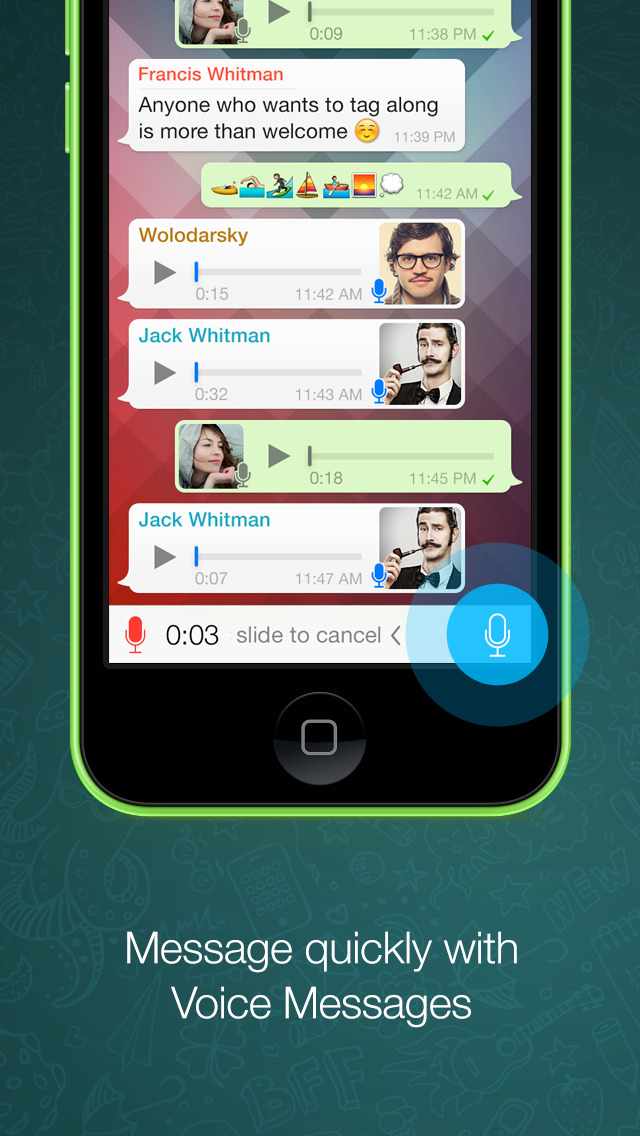 WhatsApp Messenger screenshot #2