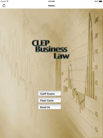 CLEP Business Law Prep 2020 screenshot 6