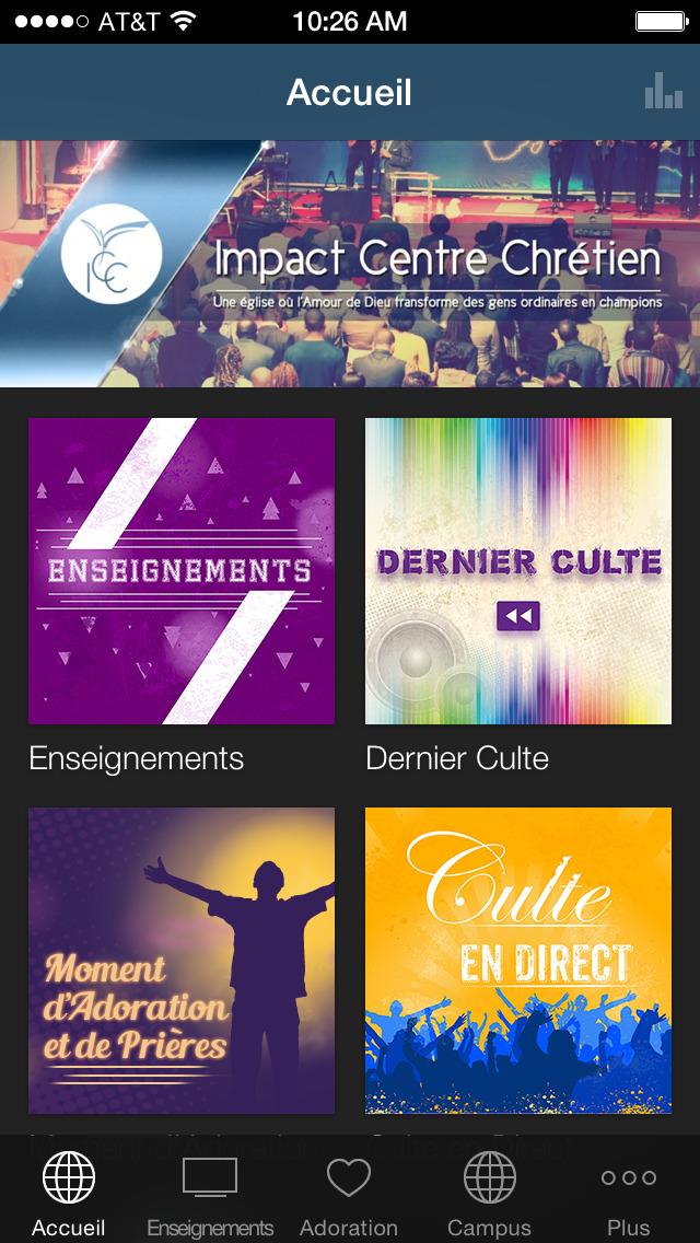 Impact Centre Chrétien screenshot 2