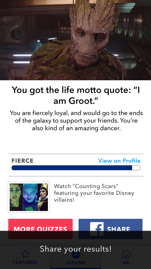 Disney Inquizitive screenshot 4