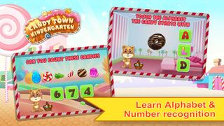 Candy Town Kindergarten - Kids educational app screenshot 4