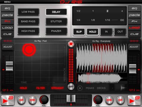 DJ Rig FREE for iPad screenshot 3