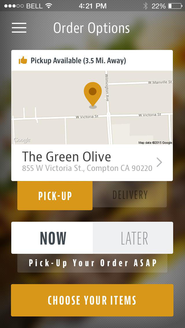 Green Olive - CA screenshot 2