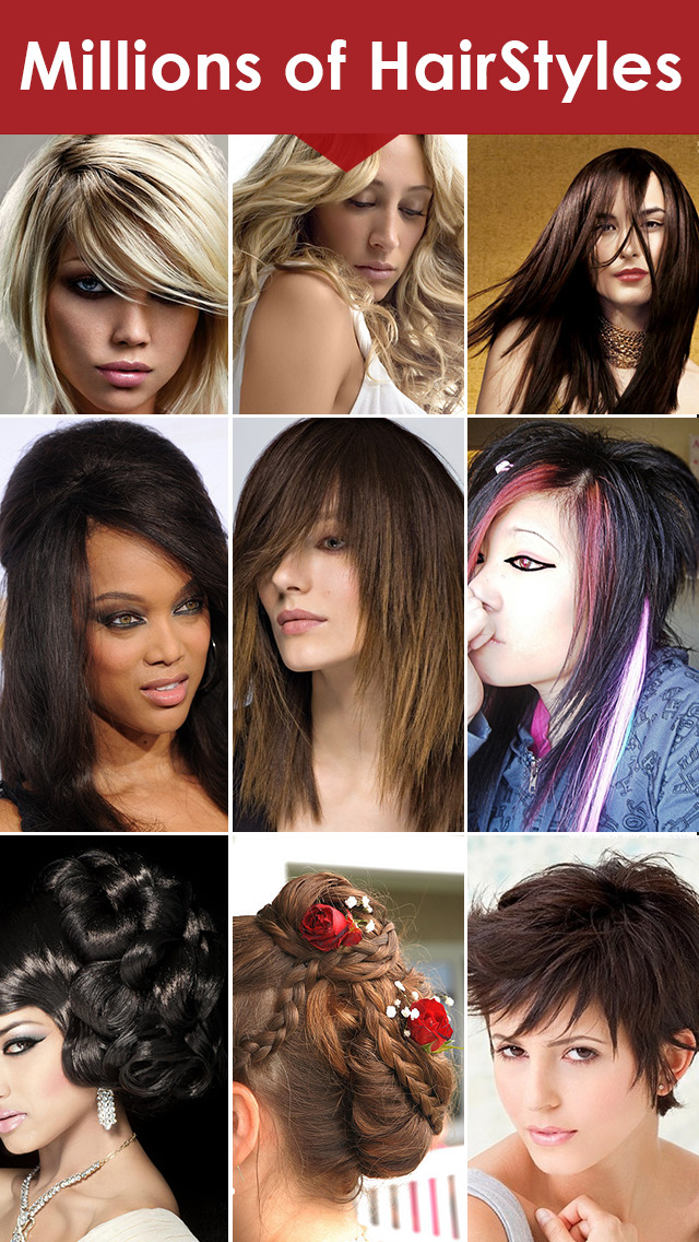 Womens Hairstyles Ideas - Girls Stylish Hair Cuts screenshot 1