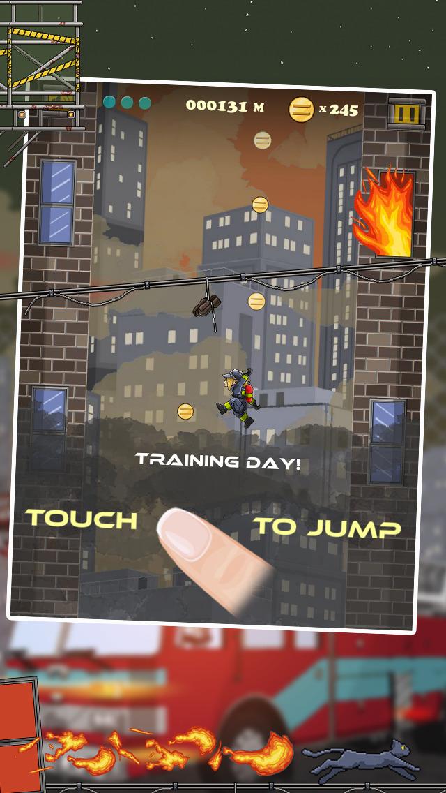 Fire & Smoke - Infernal Burning House Climber Game screenshot 2
