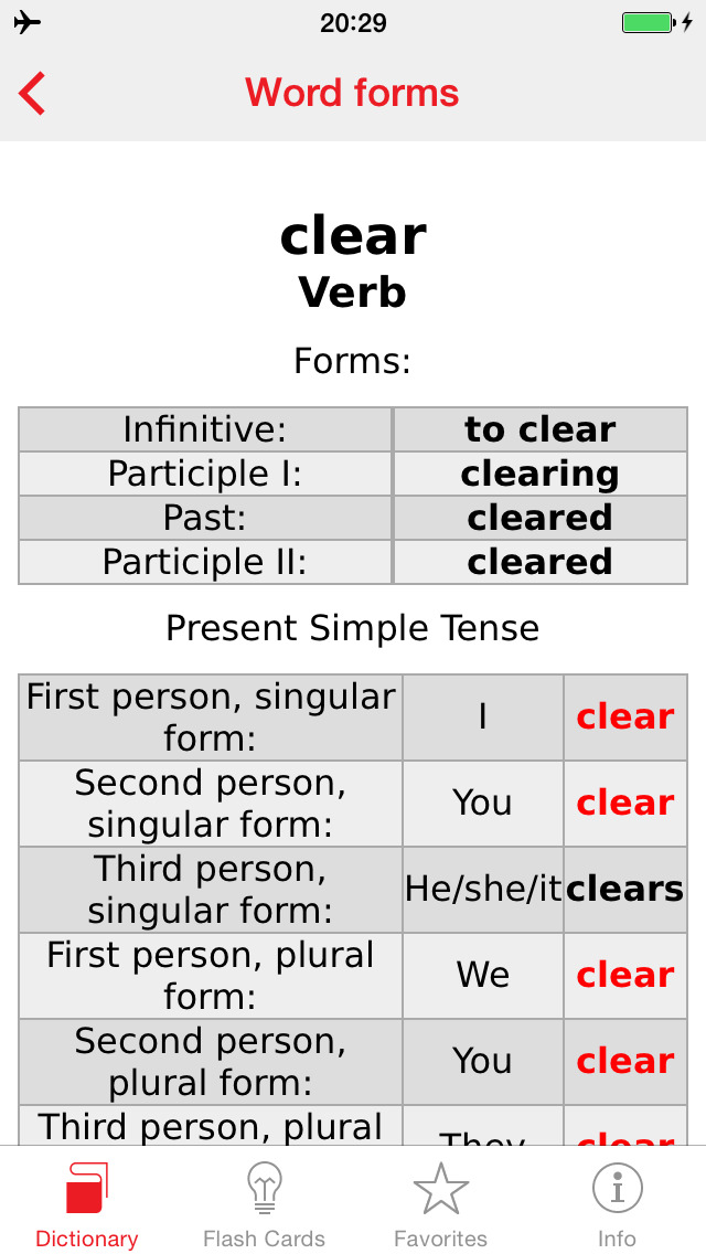 Turkish - English Berlitz Basic Dictionary screenshot 5