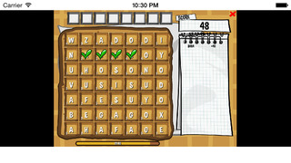 Waffle - The word Game screenshot 2