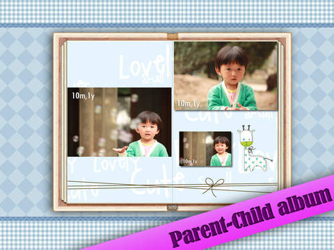 Baby Album Free for iPad screenshot 3