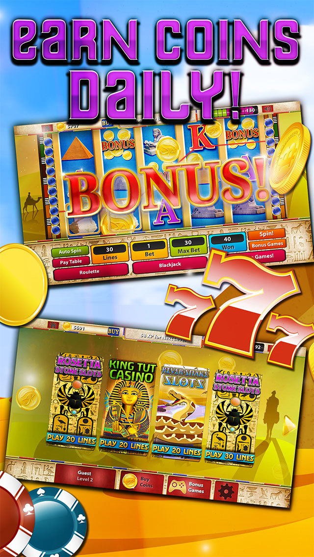 Slots - Pyramid's Way (Magic Journey of Gold Casino Dash) - FREE screenshot 4
