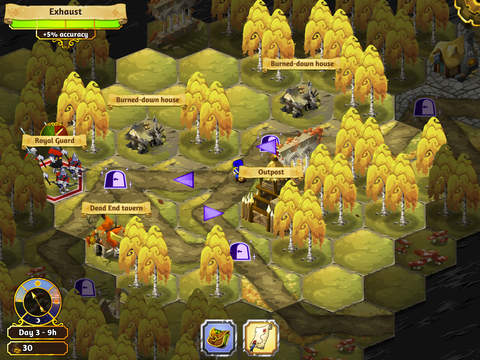 Crowntakers - The Ultimate Strategy RPG screenshot 10