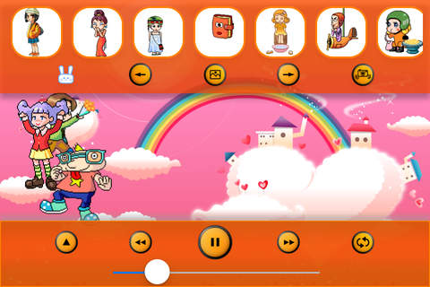 Kids Songs: Candy Music Box 2 - App Toys - náhled
