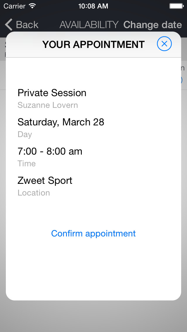 Zweet Sport Hot Yoga screenshot 3