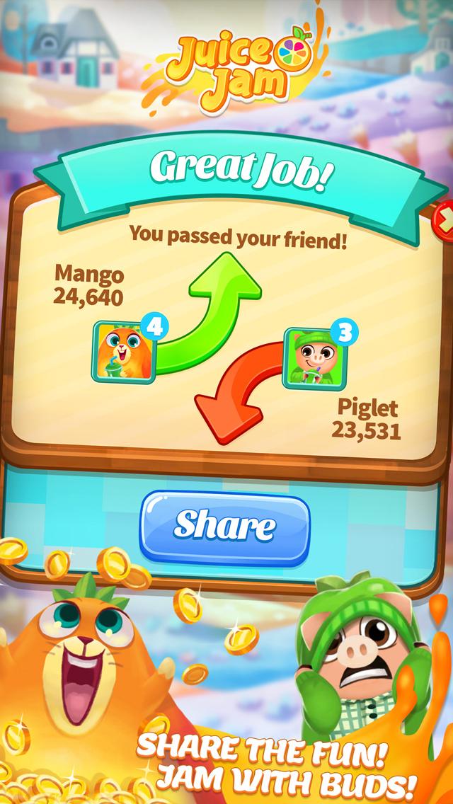 Juice Jam! Match 3 Puzzle Game screenshot 5