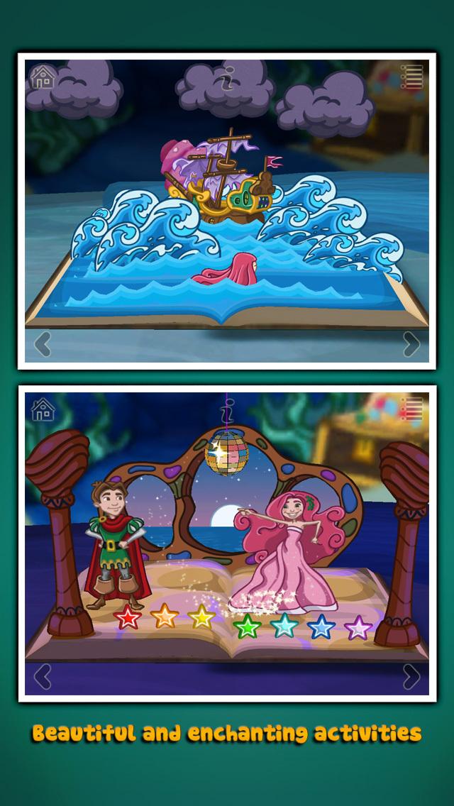 StoryToys Little Mermaid screenshot 3