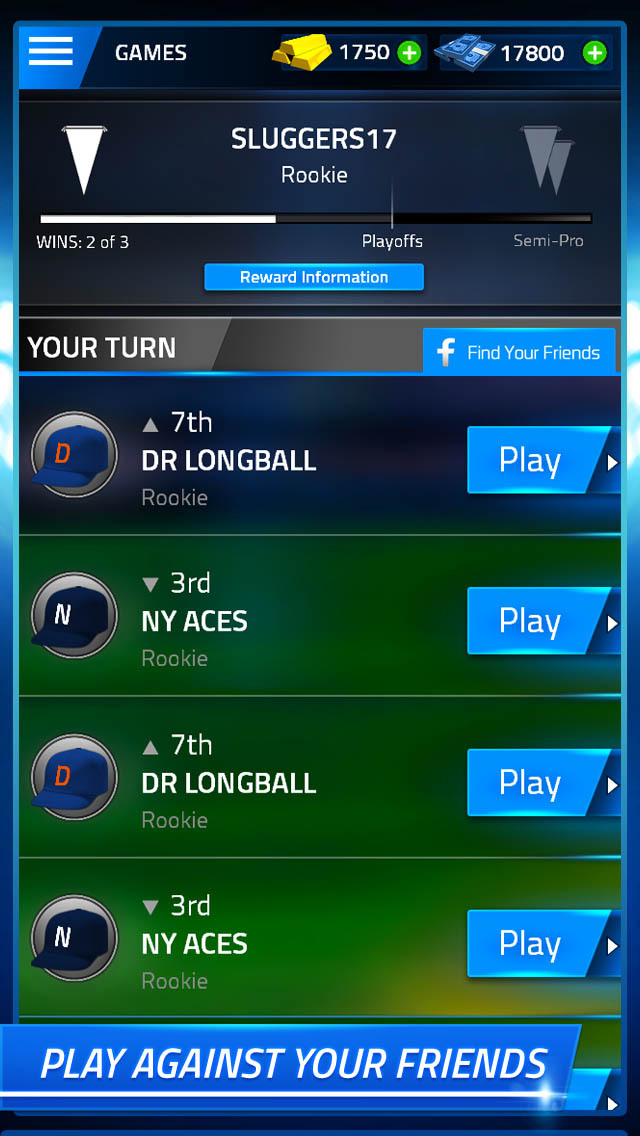 Tap Sports Baseball screenshot 3
