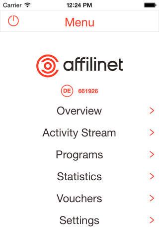 affilinet Publisher - náhled