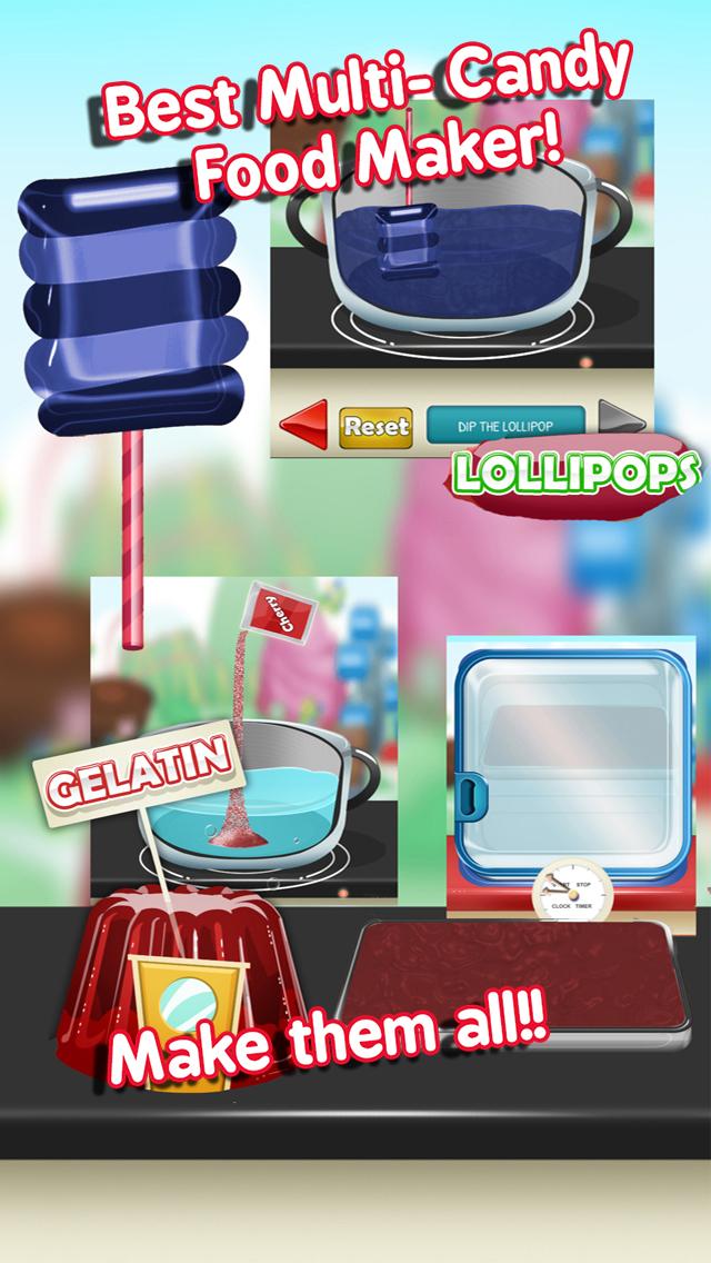 Awesome Candy Fair Carnival Sweet Food Dessert Maker screenshot 5