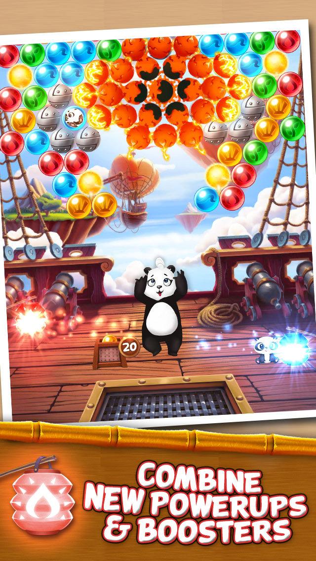 Panda Pop! Bubble Shooter Game screenshot 3