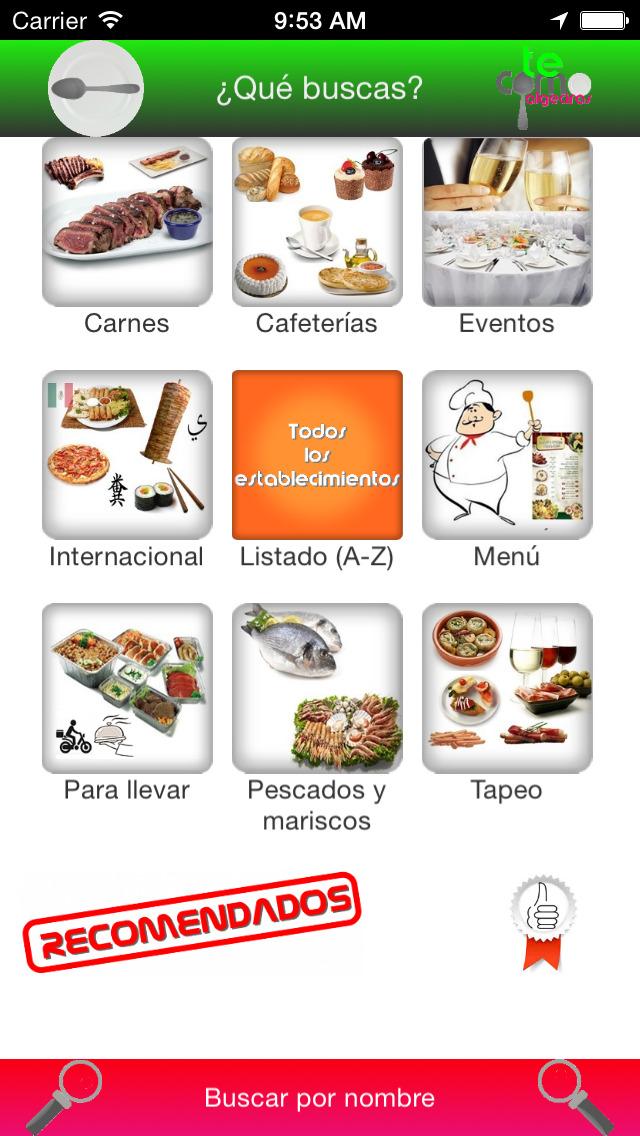 Te Como Algeciras - La guía gastronómica más completa screenshot 1