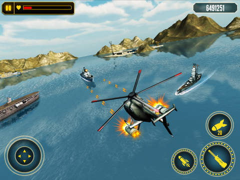 Helicopter Battle Combat 3D screenshot 5