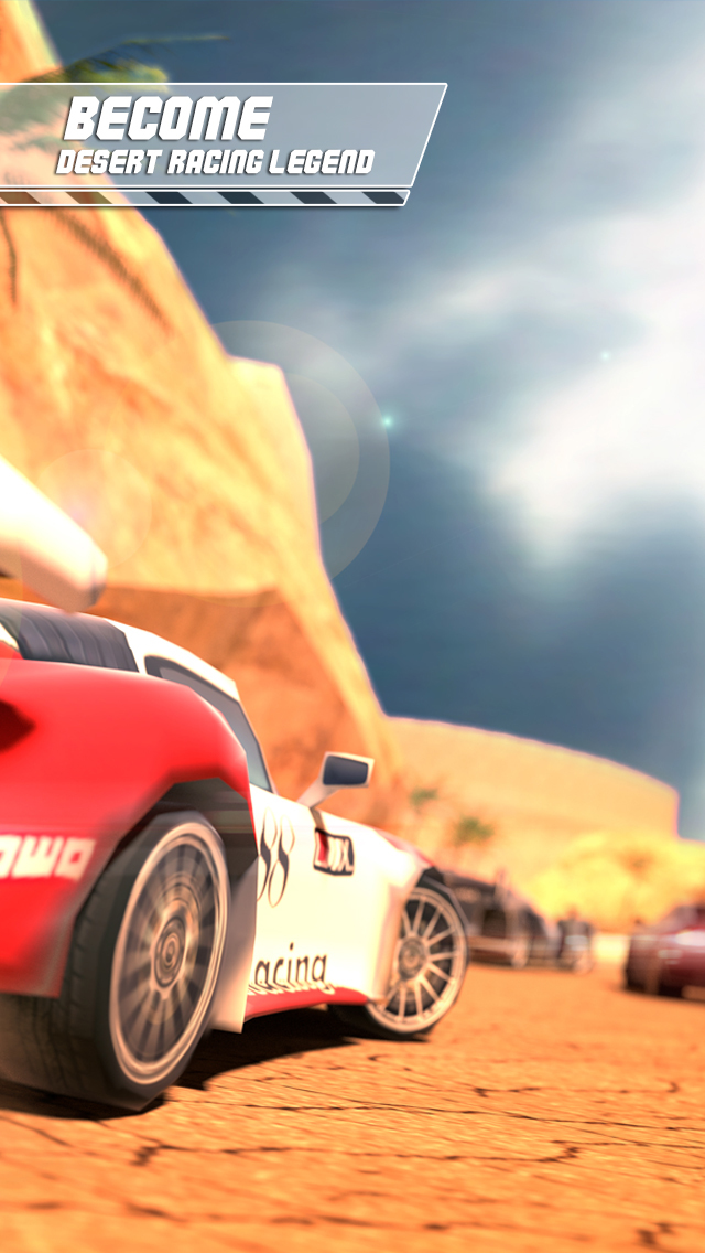 Desert Speed Racing: Need for Real Asphalt Drift 3D - Underground Race Addiction screenshot 1